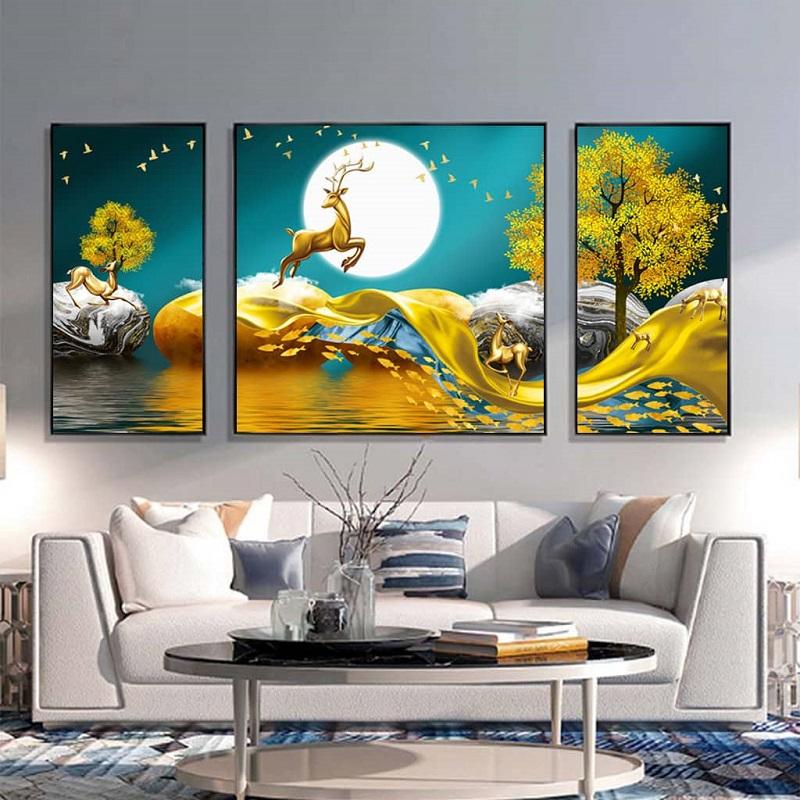 tranh canvas treo phòng khách