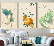 Mách bạn cách chọn tranh treo phòng khách đẹp