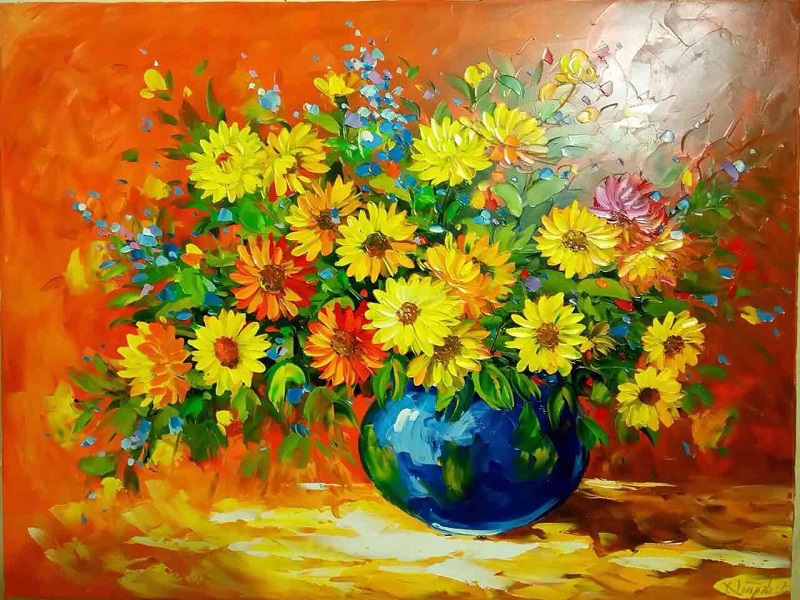 tranh sơn dầu đẹp