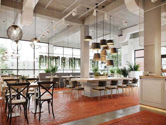 Tùy theo mô hình kinh doanh quán cafe và vốn đầu tư mà bẹn sẽ cân nhắc diện tích mặt bằng phù hợp.