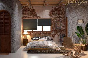 Phòng ngủ hiện đại cần đạt diện tích tối thiểu cho số người hoạt động trong không gian. Tuỳ vào diện tích phòng mà cách phối hợp thiết kế, sử dụng đồ dùng nội thất sao cho phù hợp.