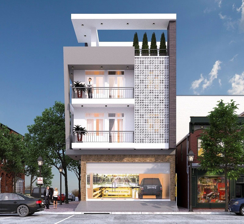 nhà 3 tầng 4