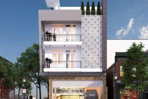. Mặt tiền nhà phố đẹp hợp phong thuỷ giúp cho gia chủ có nhiều may mắn, tài vận và dồi dào sức khoẻ.