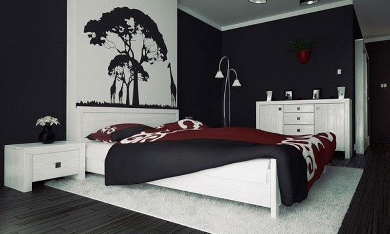 phòng ngủ hiện đại cho nam