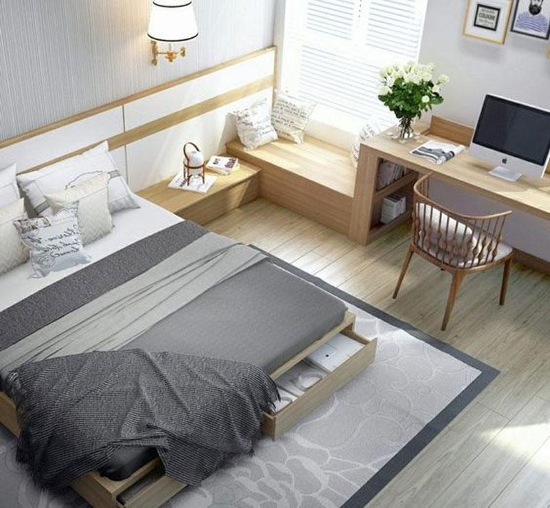 phòng ngủ hiện đại vợ chồng
