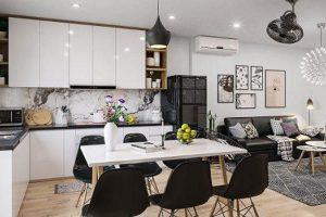Thiết kế bếp nhà ống đẹp và tiện nghi