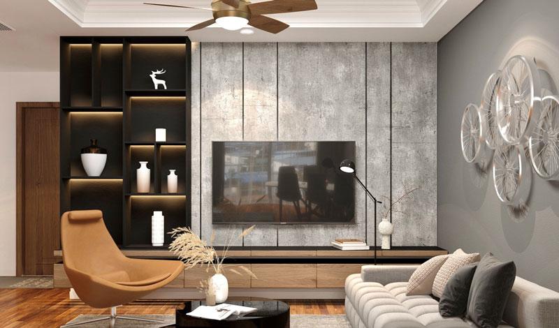thiết kế phòng khách 1