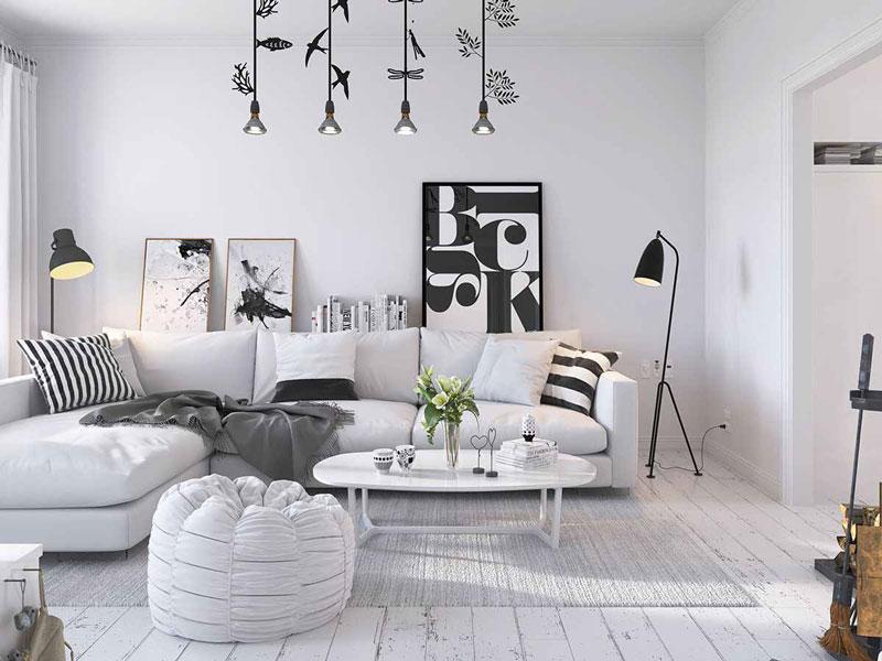 thiết kế phòng khách 2