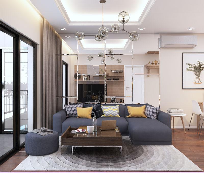 thiết kế phòng khách 3