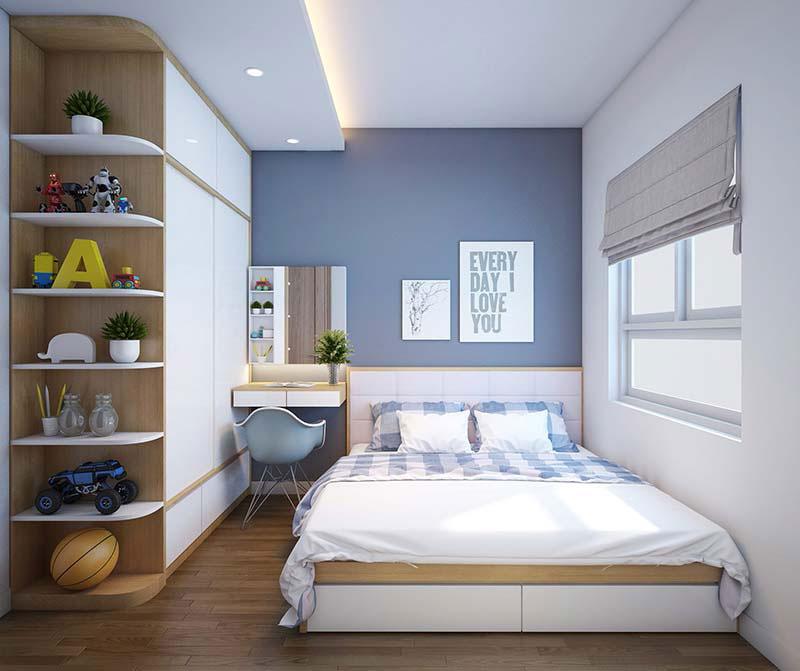 thiết kế phòng ngủ nhỏ 4