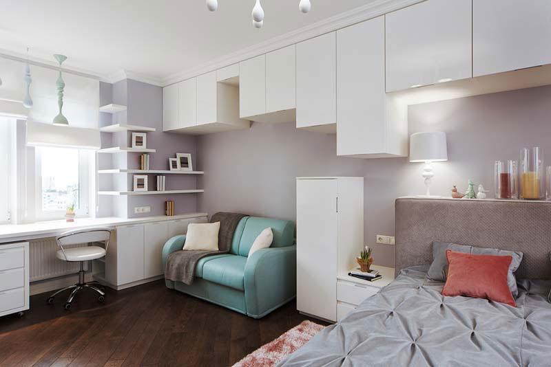 thiết kế phòng ngủ nhỏ 5