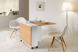 Bàn ăn thông minh được các chuyên gia thiết kế sử dụng chất liệu đa dạng, sáng tạo nhiều kiểu dáng đẹp.