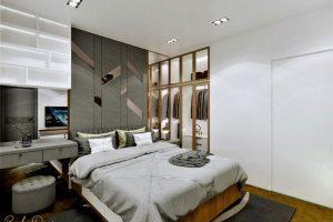 Biện pháp giảm thiểu tiếng ồn bằng cách cách âm phòng ngủ từ thiết kế tường nhà.