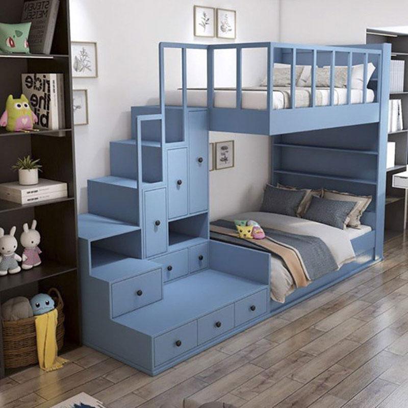 thiết kế giường tầng đẹp ưu điểm