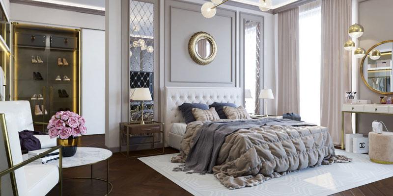 phòng ngủ tân cổ điển 3