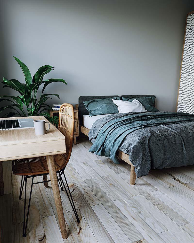 thiết kế phòng ngủ kích thước