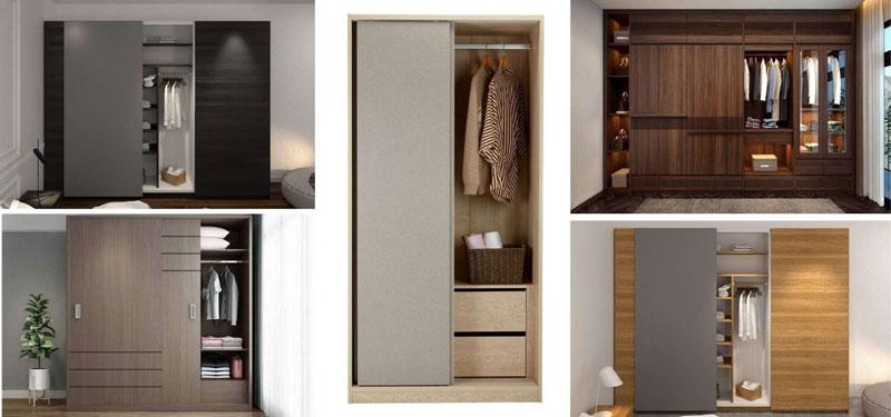 Tủ quần áo hiện đại gỗ