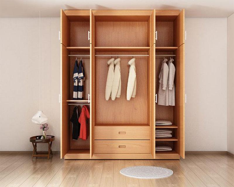 tủ quần áo hiện đại khái niệm