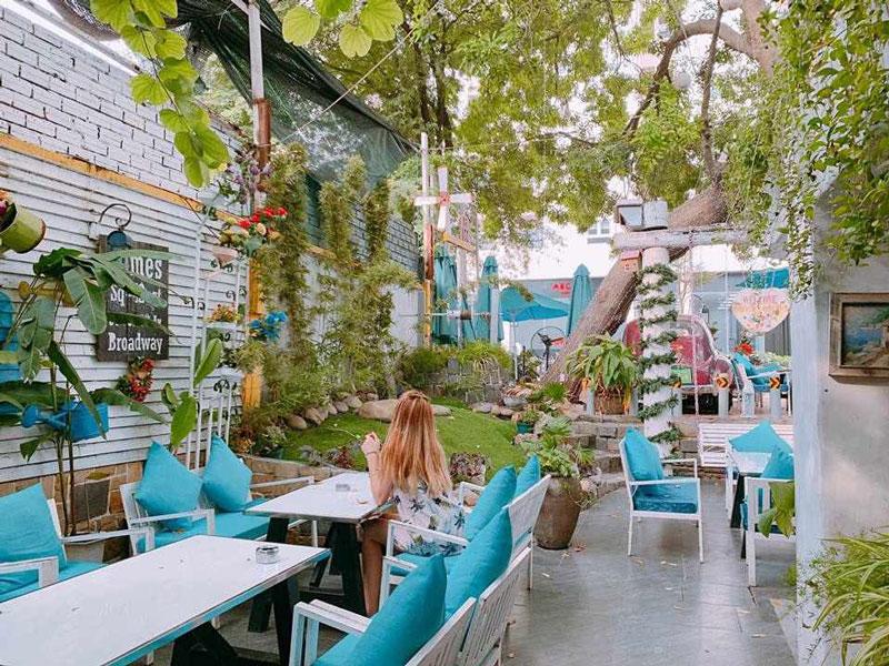 mở quán cafe sân vườn nhỏ ý tưởng