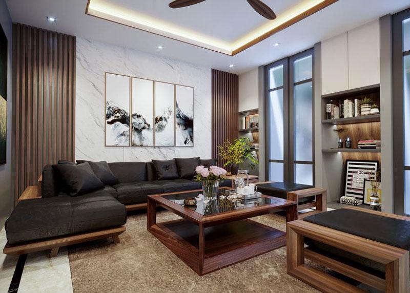 thiết kế nhà chung cư đẹp 70m2 1